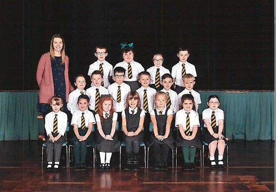Primary 3 and Mrs Henaux